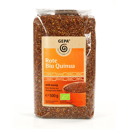 Quinoa rød Fairtrade 500gr
