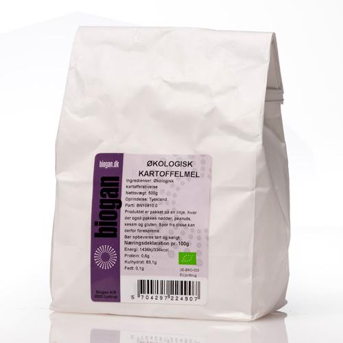 Image of   Kartoffelmel økologiske 500gr fra Biogan