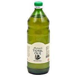 Tidselolie Koldpresset Økologisk 500ml fra Rømer