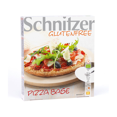 Pizzabunde økologisk glutenfri 300gr