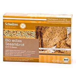Tilbud på Sesambrød glutenfri økologisk 250 gr fra Rømer