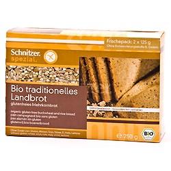 Tilbud på Landbrød glutenfri økologisk 250 gr fra Rømer
