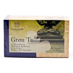 Image of   Grøn te 18 breve Sonnentor