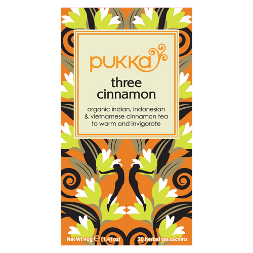 Image of   Three Cinnamon te 20 breve Pukka