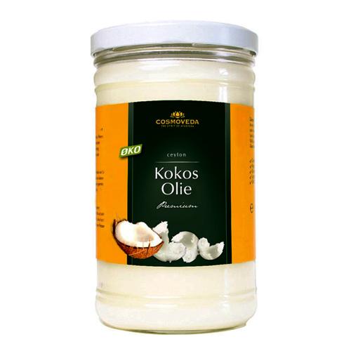 Kokosolie uden smag til stegning 900gr fra Cosmoveda