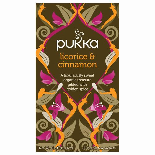 Image of Licorice & Cinnamon te (Pleasure) Økologisk 20 br fra Pukka