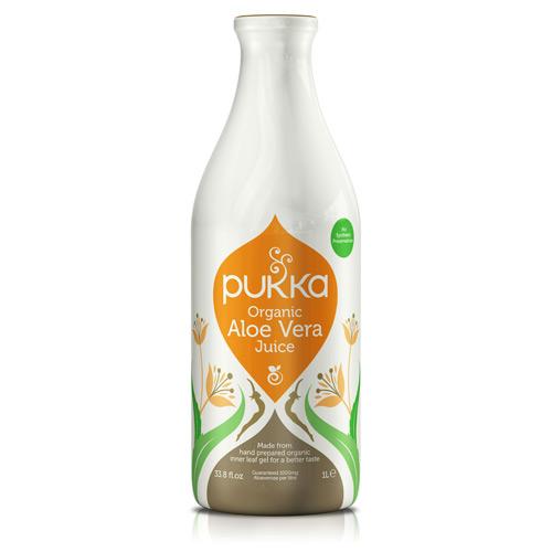 Image of   Aloe vera juice Økologisk 1 ltr fra Pukka