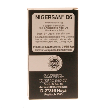 Nigersan stikpiller 10 stk