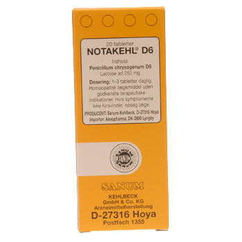 Notakehl tabletter 20 tab