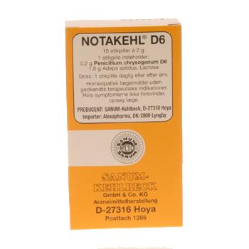 Notakehl stikpiller 10 stk