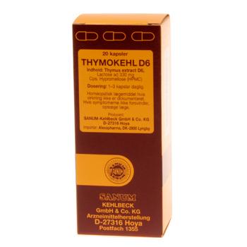 Image of   Thymokehl D6 kapsler 20 kap