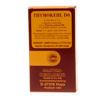 Image of   Thymokehl D6 stikpiller 10 stk