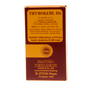 Thymokehl D6 stikpiller 10 stk