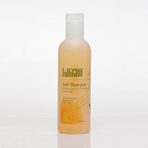 Image of Soft shampoo 200ml fra Folligro