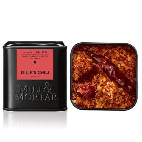 Image of   Chilli flager Dilips 45gr Mill & Mortar