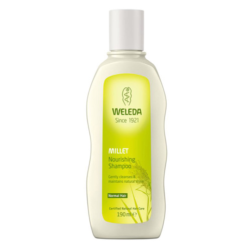 Image of   Millet nourishing shampoo 190ml Weleda