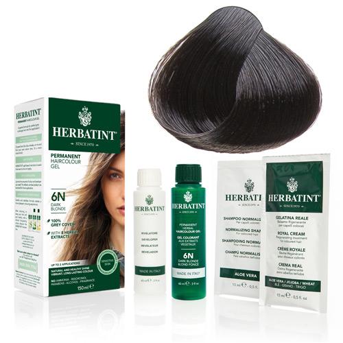 Natur hår farve fra Herbatint (Dark chestnut - 3N)