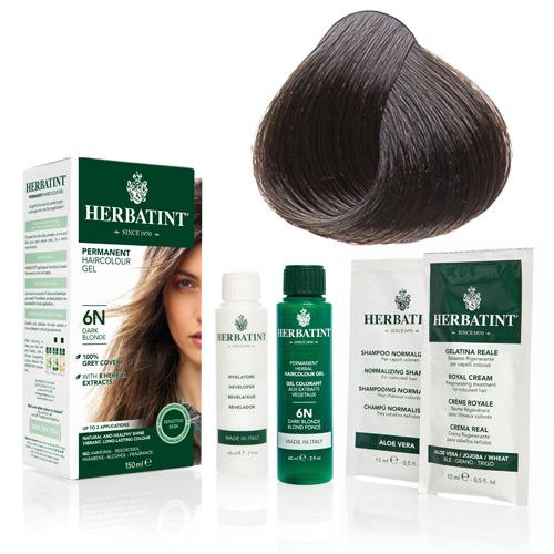 Natur hår farve fra Herbatint (Chestnut - 4N)