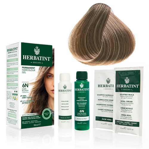 Natur hår farve fra Herbatint (Blonde - 7N)