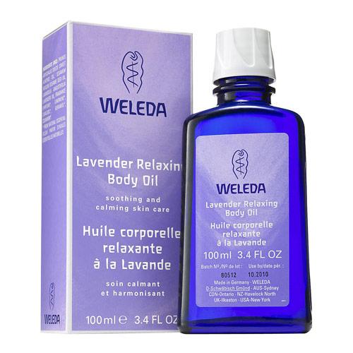 Weleda plejeolie - Lavendel - 100 ml