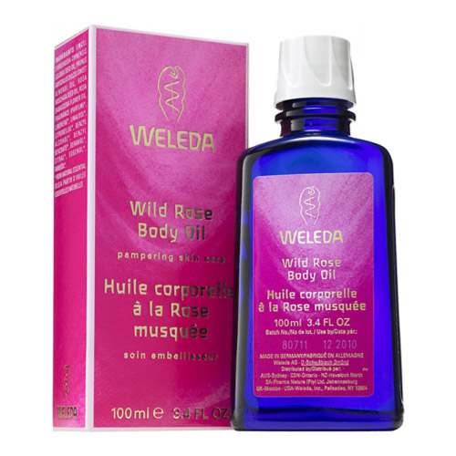 Image of Weleda kropsolie - Vildrose - 100 ml