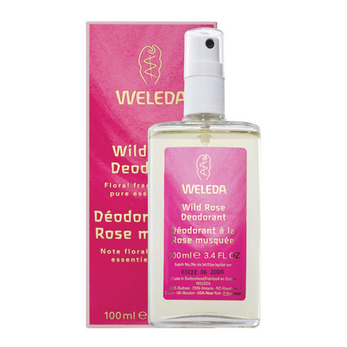 Weleda deodorant - Wild rose - 100 ml