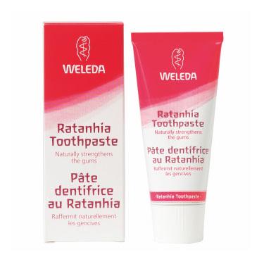 Image of Weleda Rathania tandpasta - 75 ml