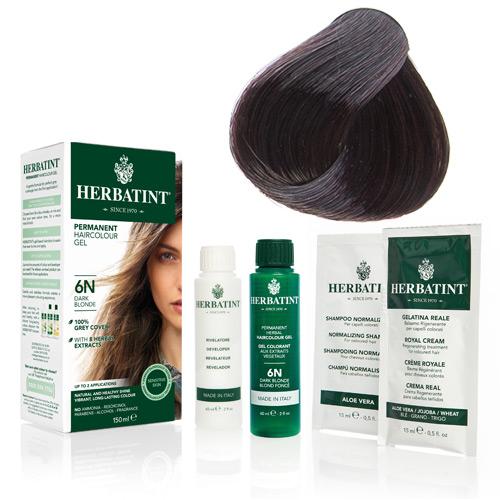 Natur hår farve fra Herbatint (Mahogany chestnut - 4M)