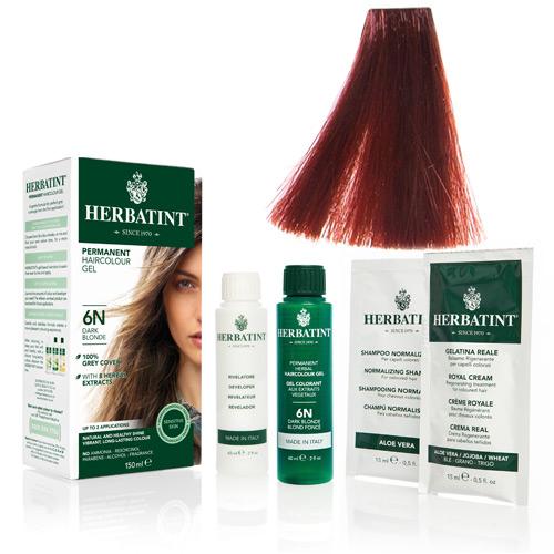Natur hår farve fra Herbatint (Crimson red - FF2)