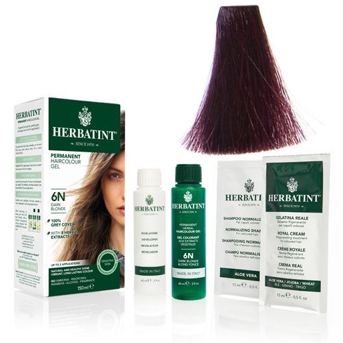 Natur hår farve fra Herbatint (Plum - FF3)