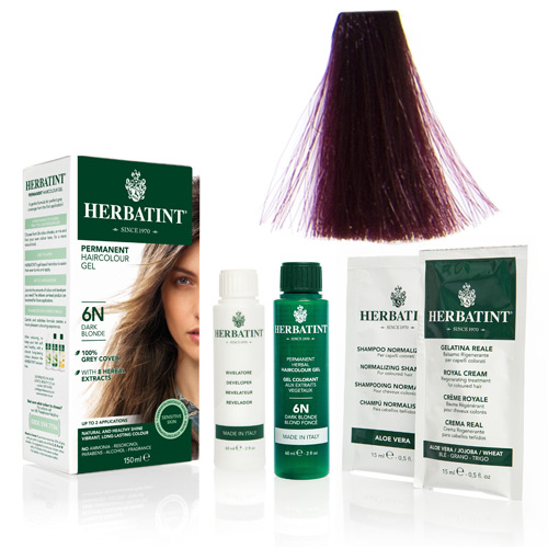 Natur hår farve fra Herbatint (Violet - FF4)