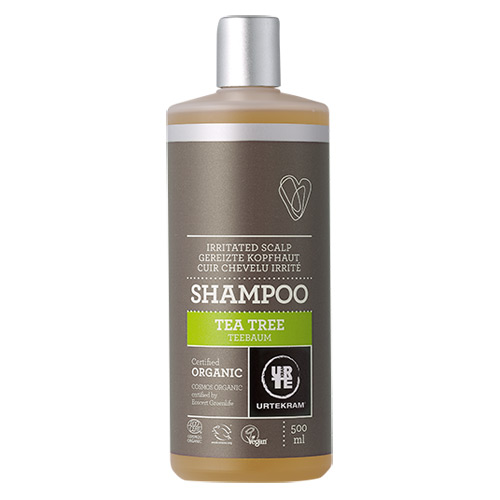 Tea Tree shampoo økologisk Urtekram (500ml)