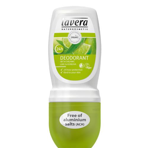 Deo Roll-On Lime Sensation 50ml fra Lavera
