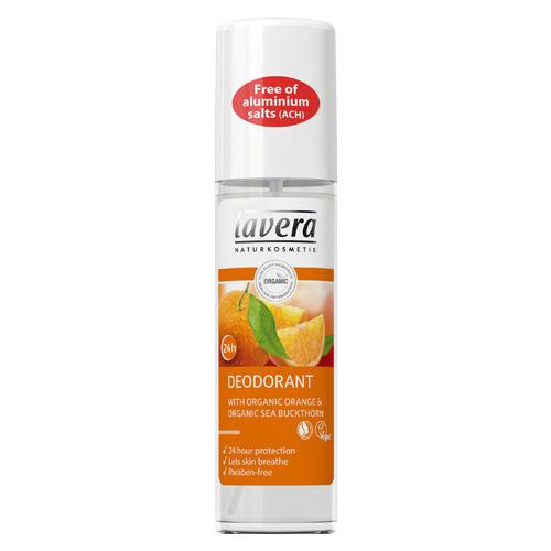 BodySPA Mild Deo spray appelsin/havtorn 75ml fra Lavera