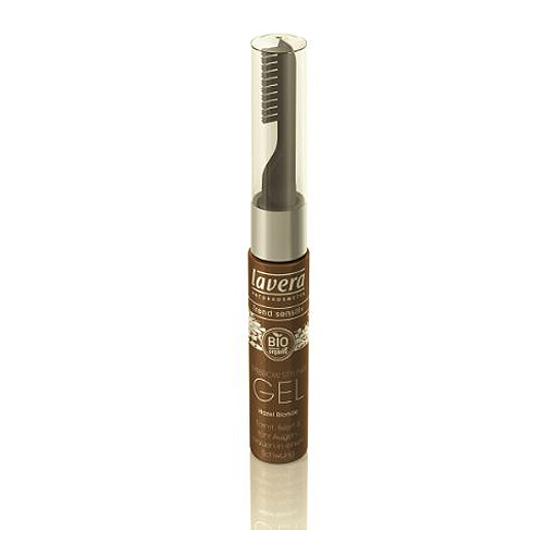 Image of Eyebrow style & care gel hazel brown Lavera