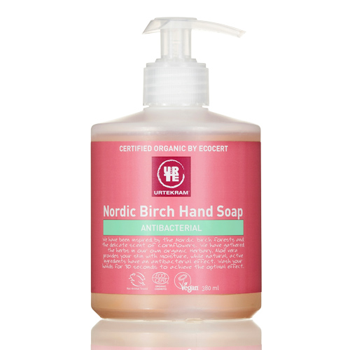 Håndsæbe antibacterial Nordic Birch 380ml