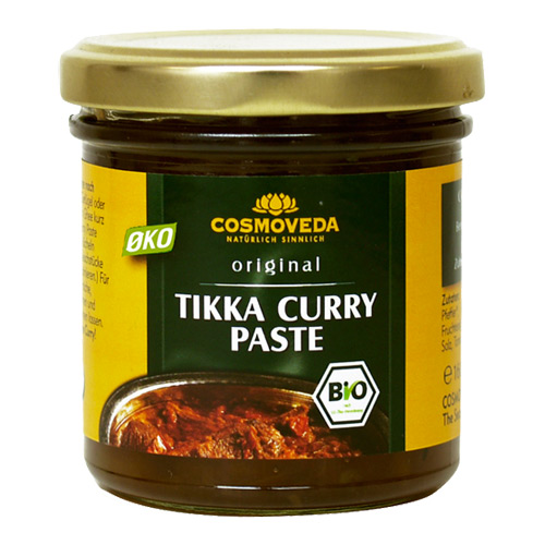 Image of   Tikka Curry Paste økologisk 160gr