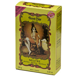 Image of   Henna pulver neutral 100gr