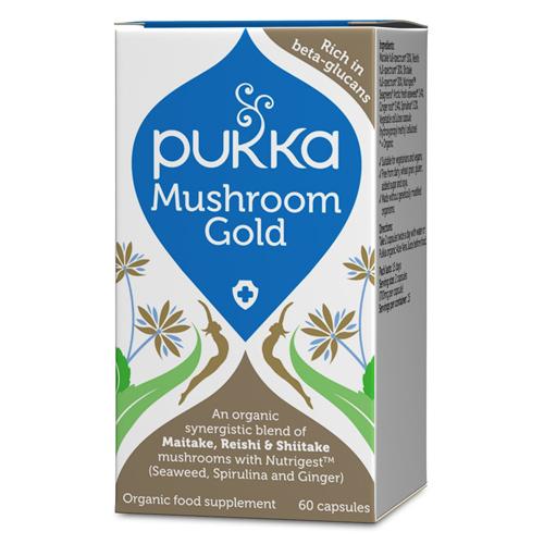Mushroom Formula økologisk 90tab fra Pukka