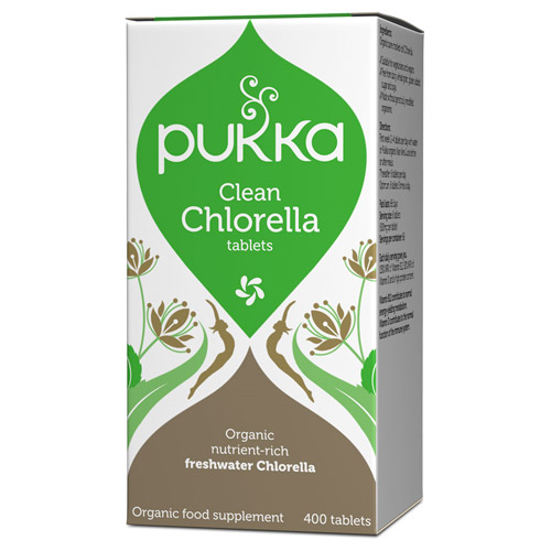 Chlorella 500 mg 400tab fra Pukka