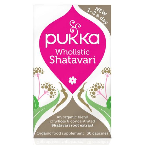 Shatavari til kvinder 30kap Pukka