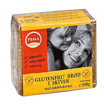 Tilbud på Brød i skiver glutenfri 500gr fra Pema