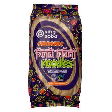 Pad Thai nudler glutenfri 250gr fra King Soba