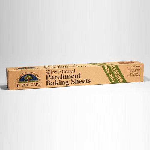 Tilbud på Bagepapir ubleget 100% nedbrydelig 24stk fra If you care