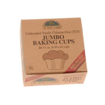 Tilbud på Bageforme jumbo ubleget 100% nedbrydelig 24 stk. fra If you care