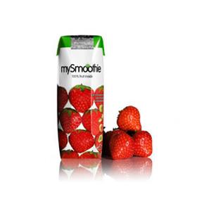 Image of Jordbær smoothie 250ml fra mySmoothie