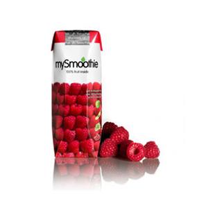 Image of Hindbær smoothie 250ml fra mySmoothie