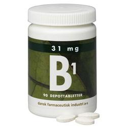 Image of   B1 depottab 31mg 90 tab