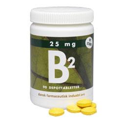 Image of   B2 depottablet 25 mg 90 tab