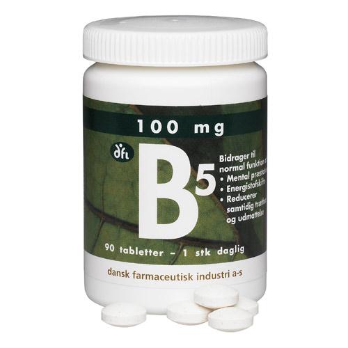 Image of   B5 depottablet 100 mg 90 tab